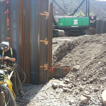 Sheet piling - Pile Driving & Foundations