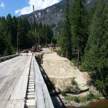 Resource bridge replacement - New Bridge Construction