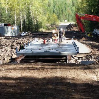 Resource Bridge – Morissey - New Bridge Construction