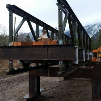 Private Pedestrian Bridge - New Bridge Construction