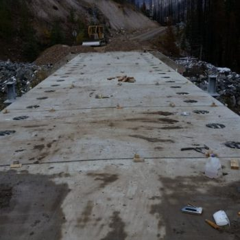 White River Resource Bridges - New Bridge Construction
