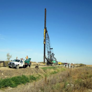 Highway Bridge Installation - Pile Driving & Foundations