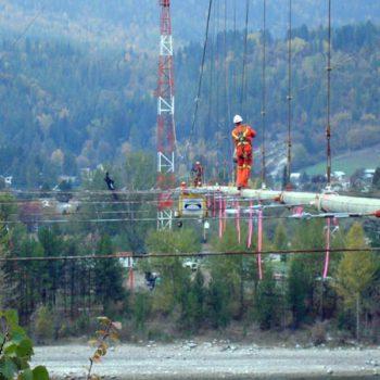 Suspension Bridge work - Structural Steel