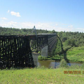 Beaver River Trestle Bridge - Bridge Repair