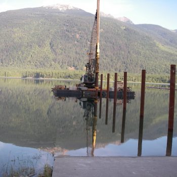 Pile Driving from a Barge - Pile Driving & Foundations