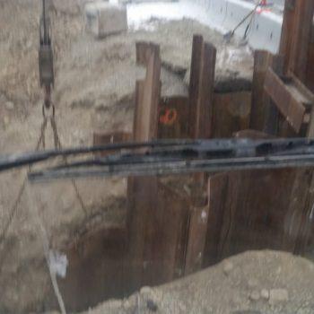 Steel Sheet pile - Bridge Repair