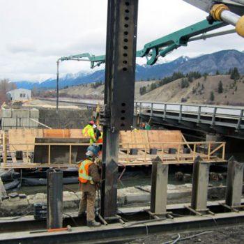 Railway Bridge - Pile Driving & Foundations