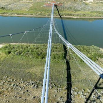 Pipe Suspension Bridge - Project